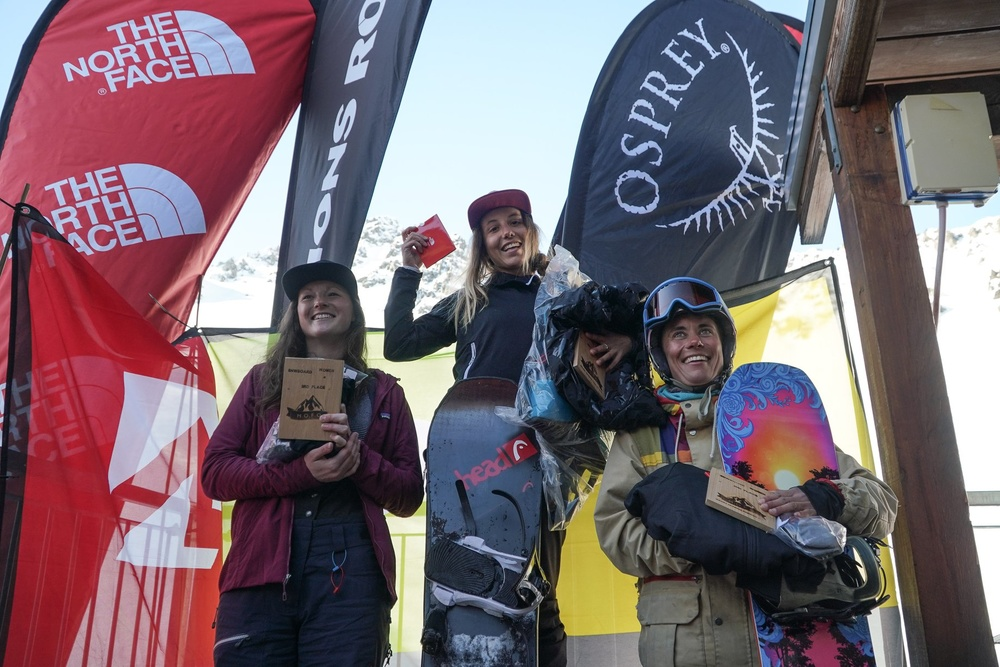 Mofo Women's Podium