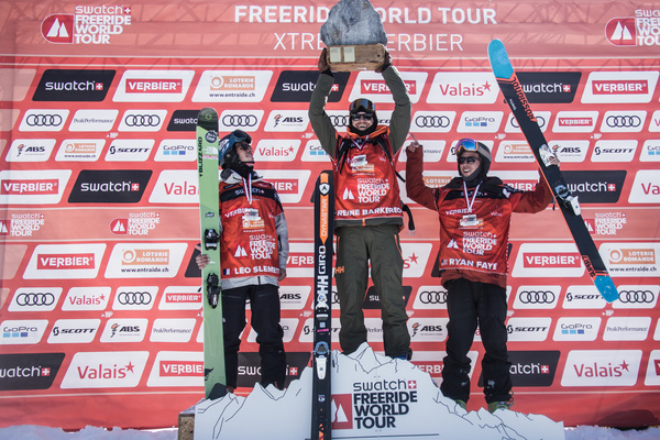 podium xtreme verier ski men 2017
