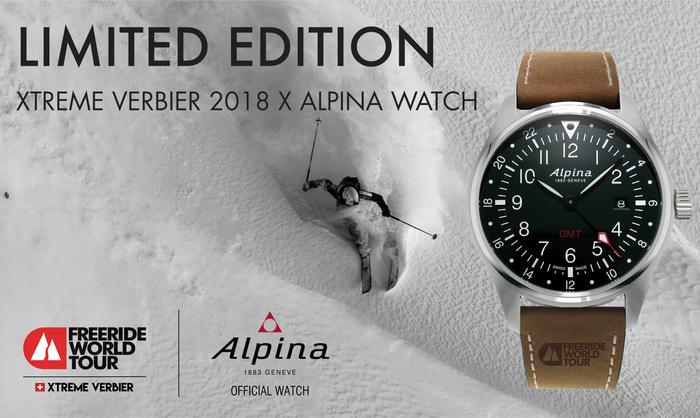 Xtreme Verbier Alpina Watches Freeride World Tour - Alpina watches price